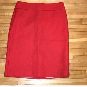 J. Crew Size 2 Pencil Skirt